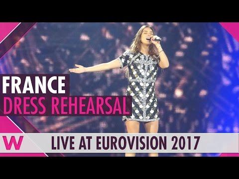 "France: Alma ""Requiem"" Grand Final Dress Rehearsal @ Eurovision 2017"