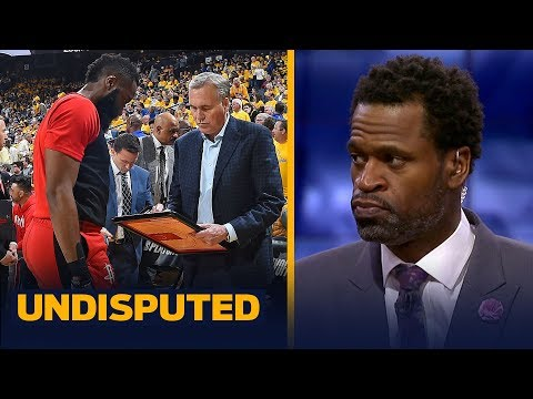 Rockets will not win a title with James Harden & Mike D'Antoni — Stephen Jackson | NBA | UNDISPUTED