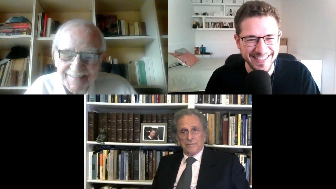 Dos intelectuales de peso en tertulia (I): Antonio Escohotado y Alberto Benegas Lynch (h).