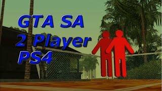 How to Play 2 Player on GTA SA On PS4