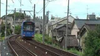 ある日の阪堺電車(大阪の路面電車)tram
