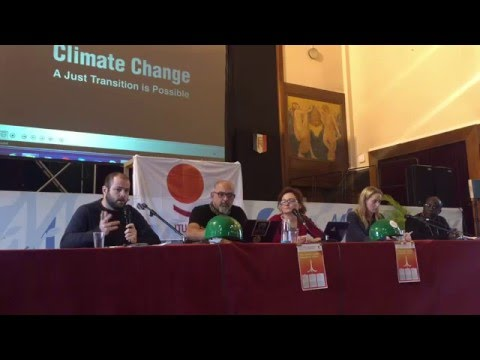 ITUC : Leaving no one behind: Just Transition Panel Discussion
