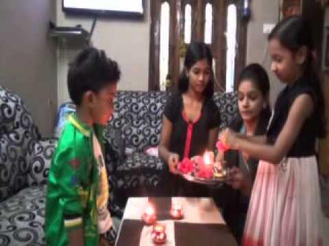 Bhai Dooj Brother Sister Love Hindu Festival Celebration Puja on Diwali