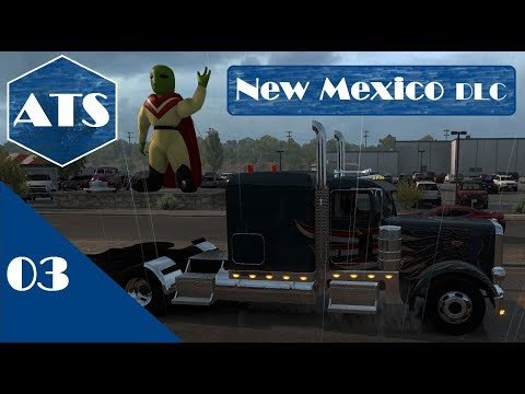 American Truck Simulator | DLC New Mexico #3 Las Cruces Bound