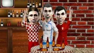 Kafanska Spika - Proslava pobjeda Bosne, Hrvatske i Srbije