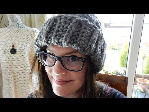 Crochet Knit Stitch Beanie (all sizes!) & WATG Yarn Review