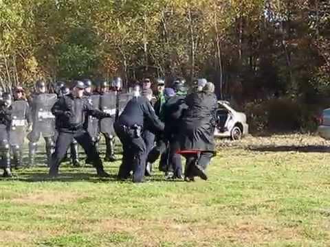 Halifax Regional Police Public Safety Unit training exercise