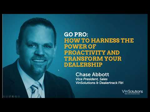 Go Pro  How to Harness the Power of Proactivity and Transform Your Dealership