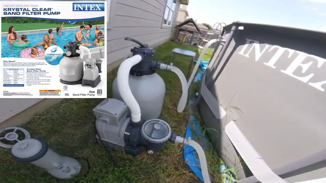 INTEX Sand Pump Upgrade - YouTube