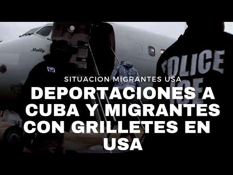 DEPORTACIONES A CUBA DETENIDAS POR EL MOMENTO AUNQUE MILES DE CUBANOS TIENEN ÓRDENES FINALES EN USA