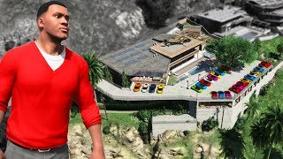 GTA 5 - Franklin's NEW MANSION! (Billionaire Mod)
