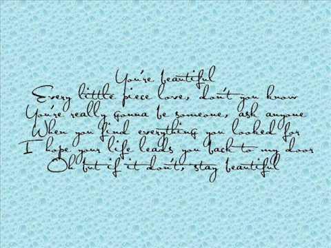 Stay Beautiful- Taylor Swift Lyrics :) - YouTube
