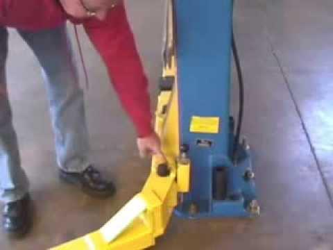 car lift safety,  lifting a car the safe way