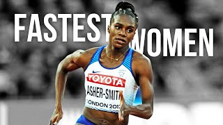 The Fastest Women In The World ● HD