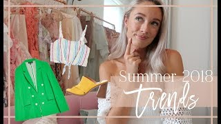 SUMMER TRENDS 2018 // & How To Style // Fashion Mumblr