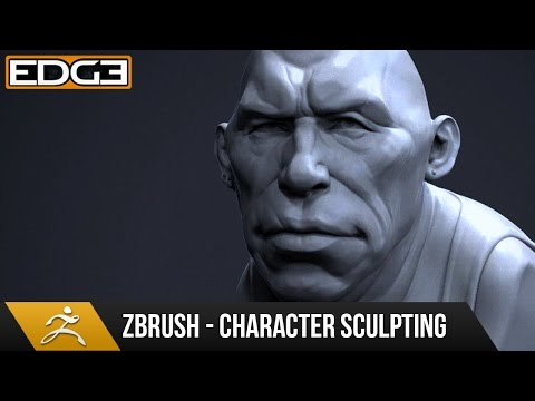 Zbrush Sculpting Tutorial - Stylized Character Bust HD