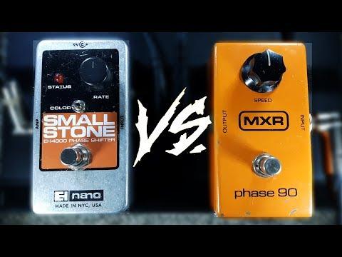 EHX Small Stone vs MXR Phase 90 (High Quality Audio)