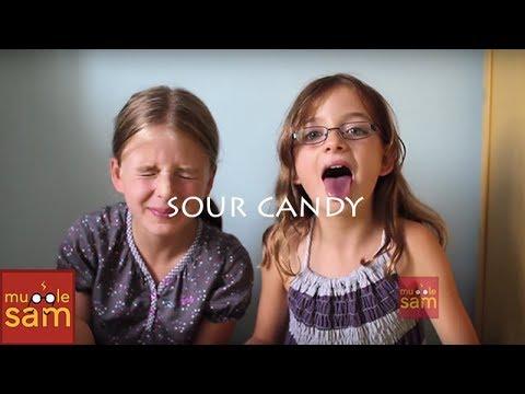 EXTREME SOUR WARHEADS CHALLENGE | Sophia & Bella Mugglesam Kids
