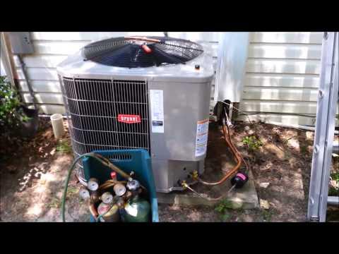 2.5 Ton Bryant HVAC System Install