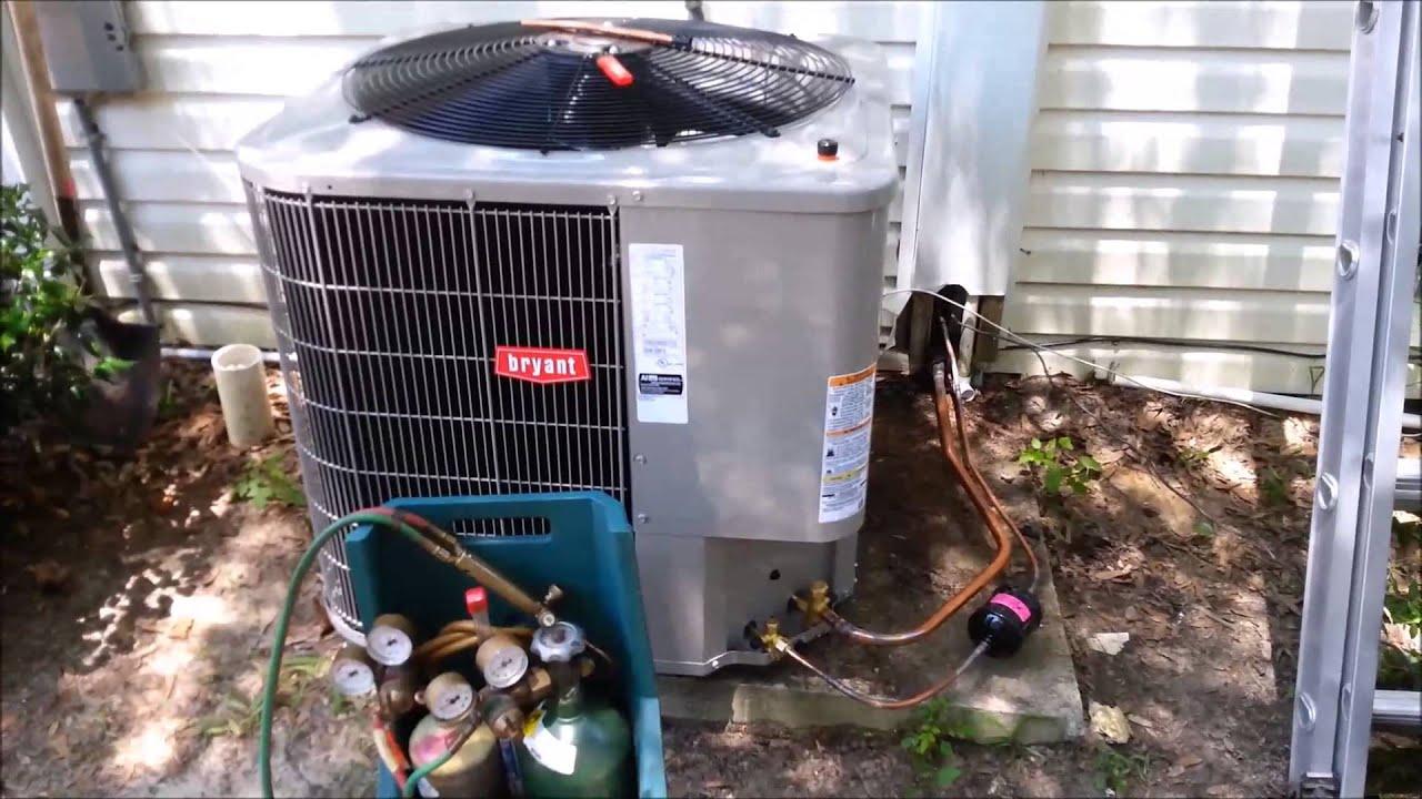 2 5 Ton Bryant HVAC System Install