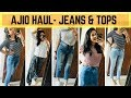 MOST AFFORDABLE JEANS & PARTY WEAR TOP HAUL - AJIO