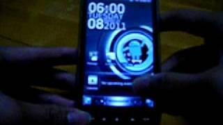 在Android行SPB Mobile Shell (HTC HD2)