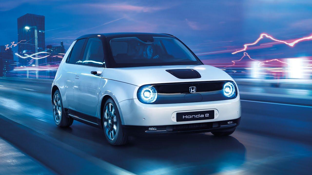Der Honda e World Urban Car 2021