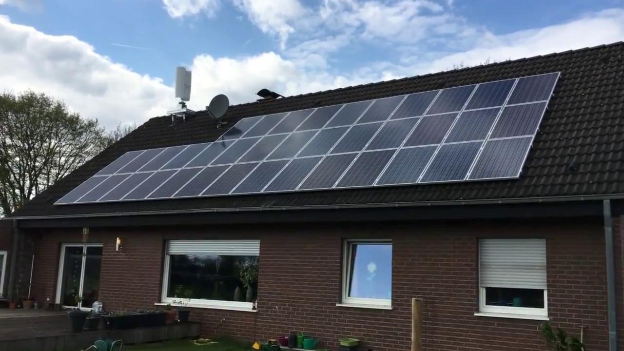 windrad auf dem dach und photovoltaik als eigenstromversorgung f r das eigenheim youtube. Black Bedroom Furniture Sets. Home Design Ideas