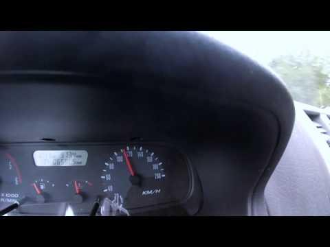 2002 Nissan Terrano II Acceleration (0-120) km/h
