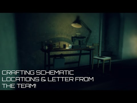15 Easy To Get Crafting Schematics & The Latest Letter From The Dev Team!