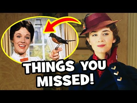 MARY POPPINS RETURNS Trailer Breakdown Easter Eggs & Things You Missed