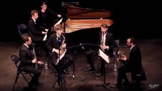 J. Brahms, quintet in f min, op.34 – Finale – Yendo sax. quartet & G. Dehaene