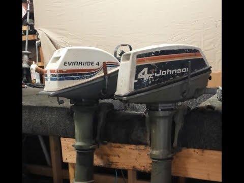1975 & 1977 Johnson / Evinrude 4 HP Inspection