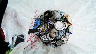 Сколько можно заработать собирая алюминиевые банки