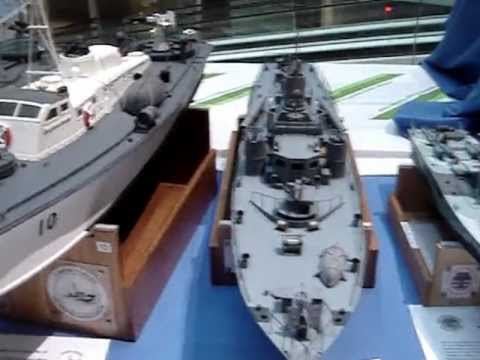 видео: Выставка моделей кораблей