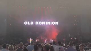 "Old Dominion Unreleased Single - ""Make It Sweet"" - Ford Field 2018 Video"