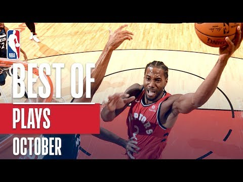 NBAs Best Plays | October 2018-19 NBA Season
