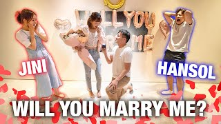 I PROPOSED TO SUNNY DAHYE