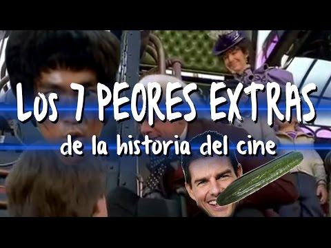 Los 7 PEORES EXTRAS de la historia del cine