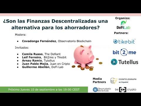 ¿Son las finanzas descentralizadas una alternativa para los ahorradores?