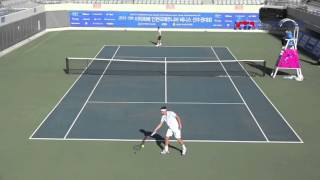 2015 Lee Duk Hee Cup Incheon International Junior Tennis QF Seong Chan Hong/Borna GOJO 1set