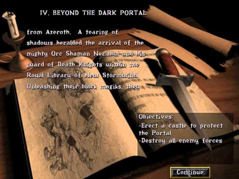 03 - The story of Warcraft II: Beyond the Dark Portal (1996)
