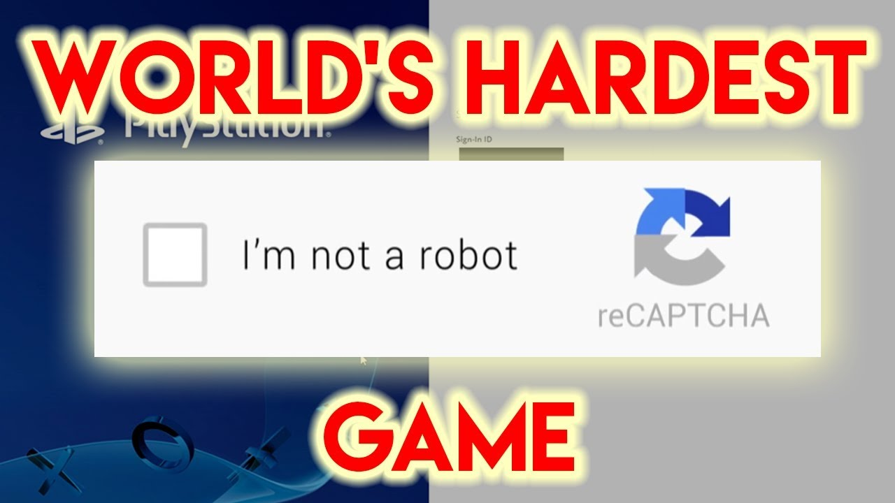 Funny Video: World's Hardest Game: CAPTCHA