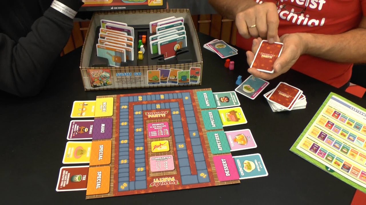 Sushi Go Party! | Board Game | BoardGameGeek