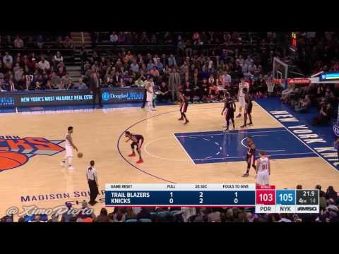 Derrick rose best plays with the knicks so far in my opinion