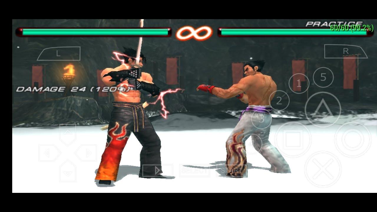 Jin Kazama Secret Moves And Tips Tekken 6 Psp Youtube