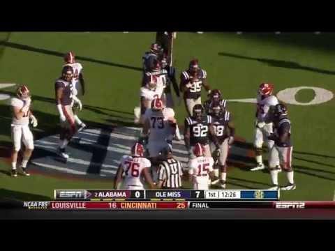 2011 #2 Alabama vs. Ole Miss (HD)