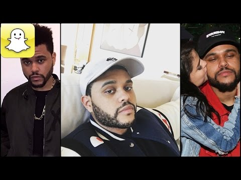 The Weeknd - Snapchat Video Compilation (Best 2017★)