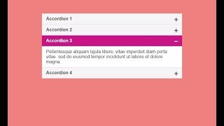 Simple Accordion with jQuery