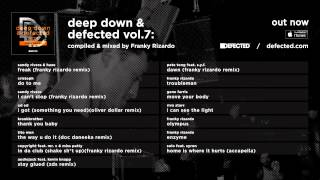 Deep Down & Defected Vol. 7: Franky Rizardo - Album Sampler